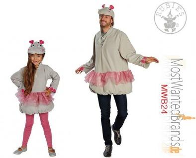 Rubies * Little Nili * Big Nili * Eltern / Kind Kostüm * Nilpferd * Karneval *