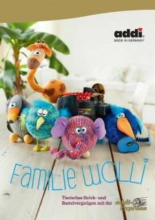 Addi 975-0 Buch Familie Wolli, Stricken und Basteln - addi Express