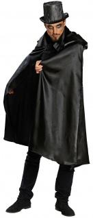 Mottoland 12869 - Umhang, Dracula Vampir Halloween CAPE, Gr. STD - 48/54