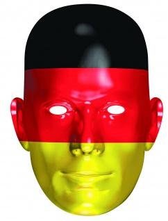 Rubies 6240421 - Germany Fan Card Mask - Face Mask * Deutschland Maske aus Pappe