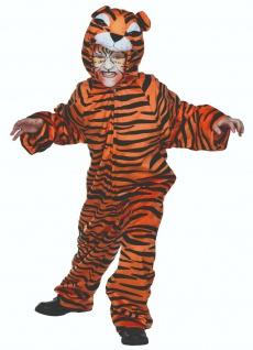 Mottoland 116210 - Tiger Amari, kuscheliges Kinder Kostüm Gr. 104 - 140