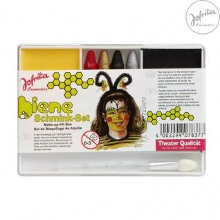 Jofrika Cosmetics * 707837 - Schminkset Biene * Schminke Karneval * Bienchen