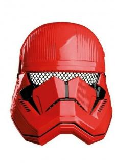 Rubies 3201051 - Red Stormtrooper 1/2 Maske Child, Star Wars Sith Trooper