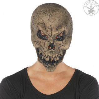 Rubies - 6240343 - Maske Skull * Skelett * Totenschädel * Horrormaske LATEX
