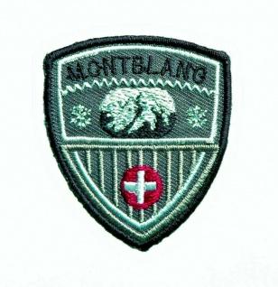 Mono Quick 04076 Montblanc Applikation, Flicken, Bügelbild, Patch, Alpen Tracht
