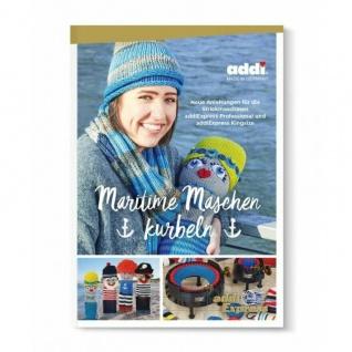 Addi 874-0 Maritime Maschen kurbeln - Buch, Anleitungen addi Express