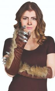 Rubies 6302608 - Werwolf Handschuhe, Halloween Kostüm Zubehör
