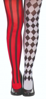 Rubies 68609 - Strumpfhose Harlekin, Halloween Karneval, Kostüm Zubehör