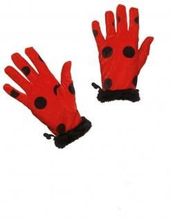 Mottoland 63298 - Marienkäferhandschuhe Kostüm Zubehör - Marienkäfer Handschuhe
