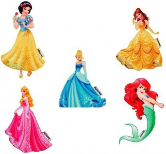 Disney Prinzessinnen Applikationen, Bügelbild Patch Arielle Belle Cinderella etc