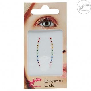 Jofrika Cosmetics 750891 - Crystal Lids RAINBOW - Selbstklebende Eye Lider *Auge