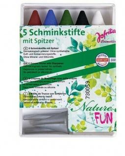 """Jofrika Cosmetics 777218 - 5 Schminkstifte """" Nature for Fun"""" Naturkosmetik"""