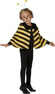 Mottoland 116098 - Biene * Kinder Kostüm * Karneval * 98 104 116 * BIENEN - CAPE