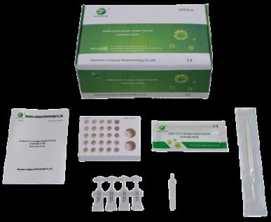 Green Spring® Antigen-Schnelltest-Set, Nasal
