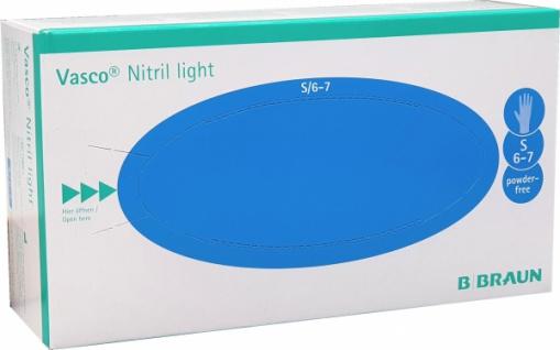 Vasco Nitril Hygienehandschuhe LIGHT S