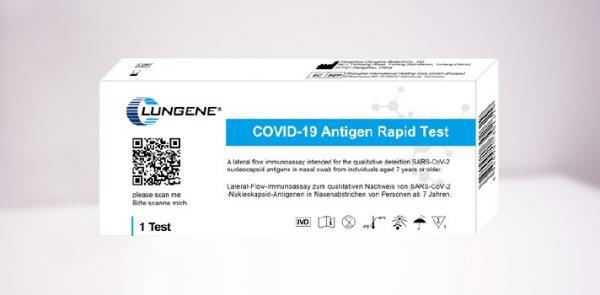 Clungene Covid-19 Antigen-schnelltest, 5er - Vorschau 2