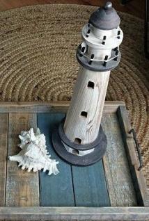 Leuchtturm aus Holz - Vorschau 5