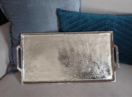 Massives Silbertablett 53 x 30 cm