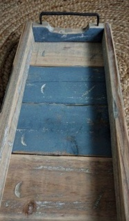 Schmales Holztablett - 78cm x 20cm