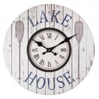 "Wanduhr "" Lake House"""
