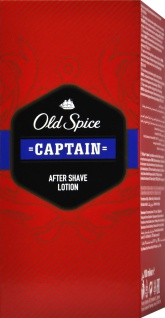 Old Spice Aftershave Lotion Captain, 100 ml