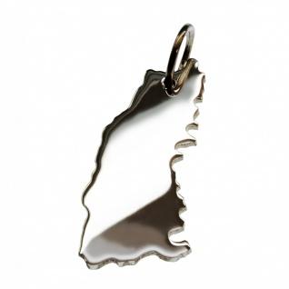 Schwarzwald Anhänger in massiv 925 Silber