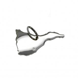 Teneriffa Anhänger mit einem Brillant 0, 015ct an Ihrem Wunschort in massiv 925 Silber