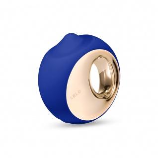 LELO ORA 3 Massagerzur Oralbefriedigung Mitternachtsblau, Sinnlicher Intimstimulator für Frauen