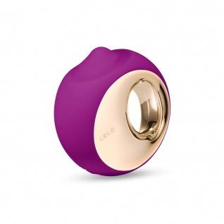 LELO ORA 3 Massager zur Oralbefriedigung Tiefe Rosa, Sinnlicher Intimstimulator für Frauen