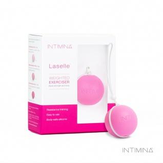 Intimina Laselle Exerciser 38g, mittelschwere Kugel zur Stärkung des Beckenbodens, System der Kegel-Übungen für Frauen