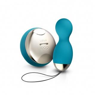 LELO HULA Beads Ocean Blue - drehende, rotierende und vibrierende PLeasure Beads (Kegel Balls für Frauen) - Ben Wa Kegel Balls - 1 Jahr Garantie