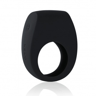 LELO TOR 2 Intim-Ring für Frauen und Männer Black, Wiederverwendbarer Liebesring zur Befriedigung von Paaren und mehr Spaß im Bett