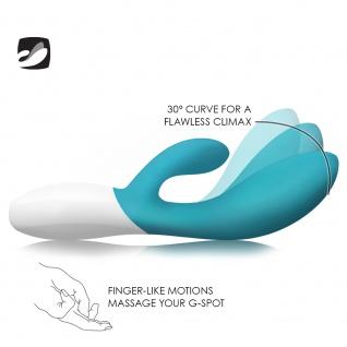 LELO INA Wave Ocean Blue, Dualer, Intimer Massager mit innovativer WaveMotion-Technologie für doppelte Stimulierung, extrem leise und mit 10 Vibrationsformen - Vorschau 2