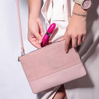 LELO MIA 2 Deep Rose Massager für die Frau im Lippenstiftsstil. Diskreter Kugel-Massager mit USB zum Handgebrauch - Vorschau 5