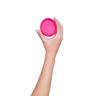 Intimina Ziggy Cup, Extradünne und für Sex geeignete Menstruationstasse mit flacher Passform - Vorschau 4