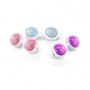 LELO Beads Plus - Luxuriöse Kegelkugeln mit Schnur bieten eine große Auswahl an Trainingskombinationen