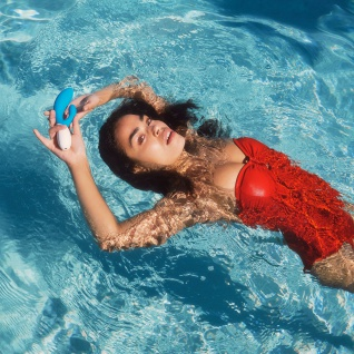 LELO INA Wave Ocean Blue, Dualer, Intimer Massager mit innovativer WaveMotion-Technologie für doppelte Stimulierung, extrem leise und mit 10 Vibrationsformen - Vorschau 5