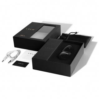 LELO NEA 2 Obsidian Black Intim-Massager für Frauen. Elegantes Spielzeug zur Stimulierung, mit doppelter Leistungskraft, aber dennoch für eine leise, äußere weibliche Massage - Vorschau 4