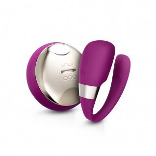 LELO TIANI 3 U-förmiger Massager für Paare tiefe Rose, Kabellose Fernsteuerung für handlose Befriedigung, Intim-Massager für Paare