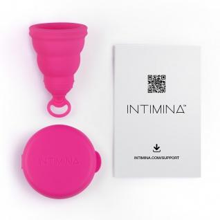 Intimina Lily Cup One, die faltbare Menstruationstasse für Anfängerinnen - Vorschau 3