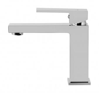 Corsan Einhebelmischer Mischbatterie Waschbecken Hoch Wasserhahn Badarmatur Waschbecken-Armatur CORSAN CMB3016CH