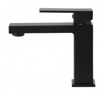 Corsan Einhebelmischer Mischbatterie Waschbecken Hoch Wasserhahn Badarmatur Waschbecken-Armatur CORSAN CMB3016BL