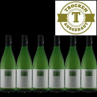 Weißwein Pfalz Riesling Weingut Krieger Rhodter Ordensgut trocken (6x 1, 0 l)