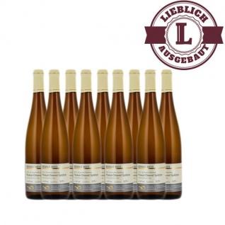 Weißwein Nahe Muskat - Ottonel Weingut Roland Mees Nahe Kreuznacher Rosenberg Spätlese lieblich (9 x 0, 75l)