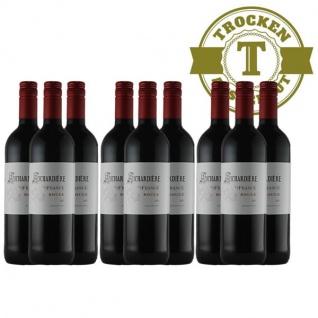 Rotwein Frankreich Vin de France Rouge(9 x 0, 75l)