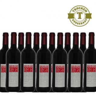 Rotwein Pfalz Dornfelder Weingut Krieger Qualitätswein trocken (12 x 0, 75 l)