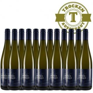 Weißwein Rheinhessen Silvaner Weingut Dackermann Hesslocher Ortswein trocken (12 x 0, 75 l)
