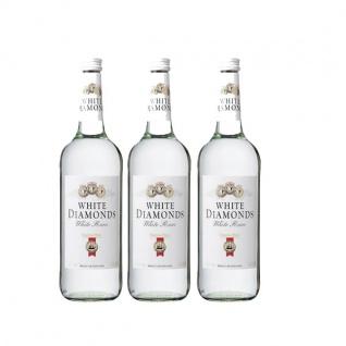 Weißer Rum White Diamonds 37, 5% Vol. (3x0, 7l)