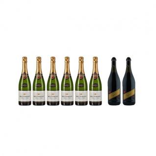 Brut Dargent Méthode Traditionnelle Chardonnay plus Fragolino (8 x 0.75 l)