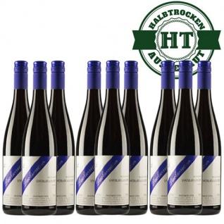 Rotwein Rheinhessen Spätburgunder Weingut Dackermann Gutswein feinherb ( 9 x 0, 75l)